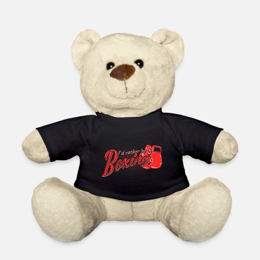 Gloves Boxing sports boxing gloves - Teddy Bear