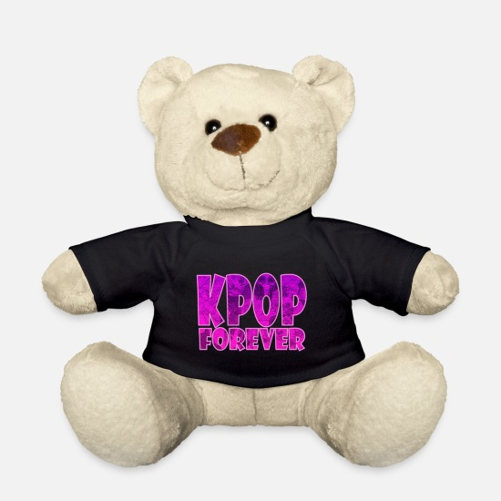 Gift Idea Teddy Bear Toys - K-Pop Forever - Teddy Bear black