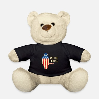 Constitution We The People We, the people USA America Constitution - Teddy Bear