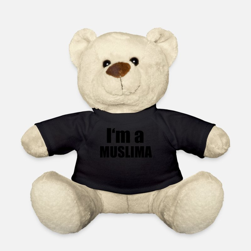 Muslim Teddy Bear Toys - Muslim - Teddy Bear black