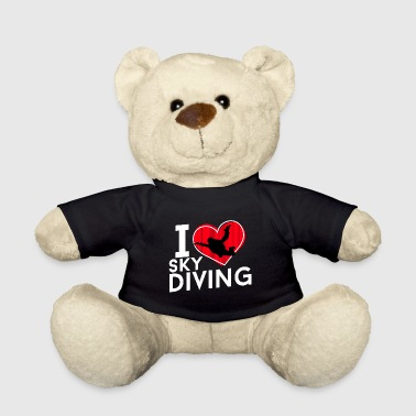 I love sky diving - Teddy Bear