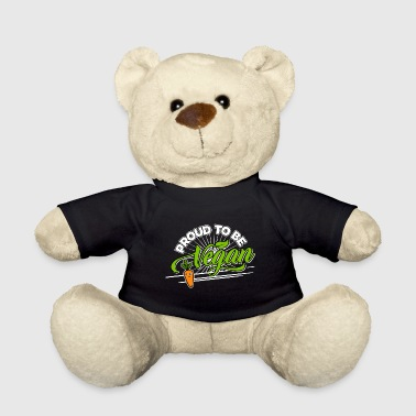 Vegetable Vegan - Proud to be Vegan (Carrot) - Teddy Bear