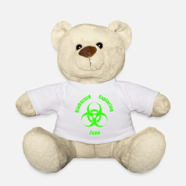 Urban Explorer Biohazard Exploring Zone T-Shirt - Design Patch - Teddybär