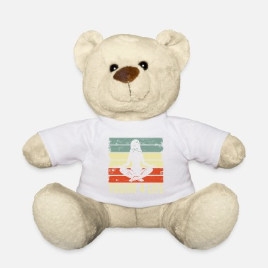 Relaxe Yoga quote - Teddy Bear