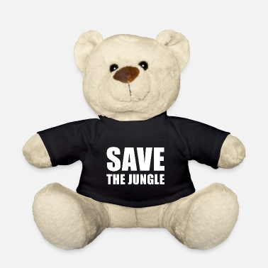 La jungle Phrases nature - Ours en peluche