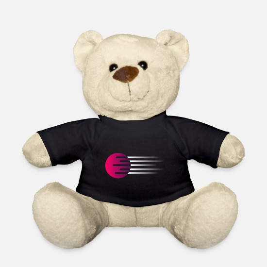 Digital Teddy Bear Toys - planet - Teddy Bear black