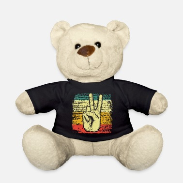 Peace Movement Peace Peace Movement Peace - Teddy Bear