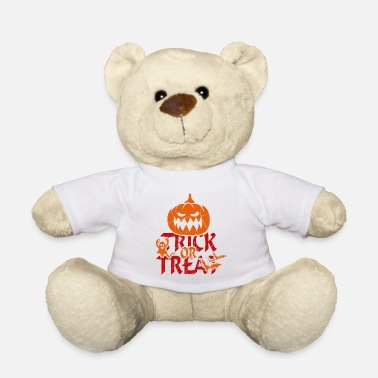 Trick Or Treat Trick or Treat bij Halloween - trick or treat - Teddybeer
