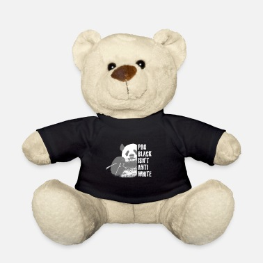 Nazi Panda against racism, Nazis, right - Teddy Bear