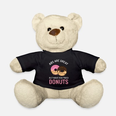 Builder Donut training muscles funny gift - Teddy Bear