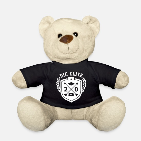 Highschool Teddy Bear Toys - The elite graduating class 2020 - Teddy Bear black