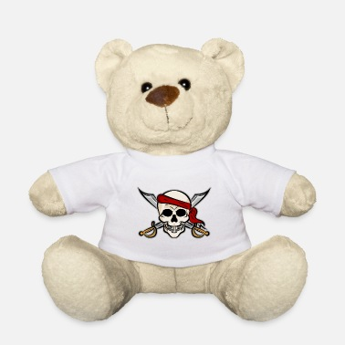 Pirate Party Halloween Pirate Party Skull for Party's - Teddy Bear