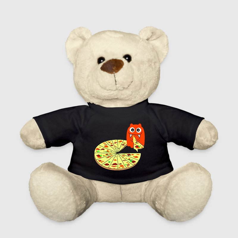 Monster Pizza - Teddy Bear