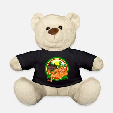 Rasta Rasta Lion Chilling - Teddy Bear