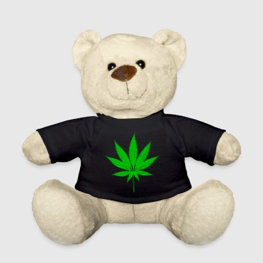cannabis leaf - Teddy Bear