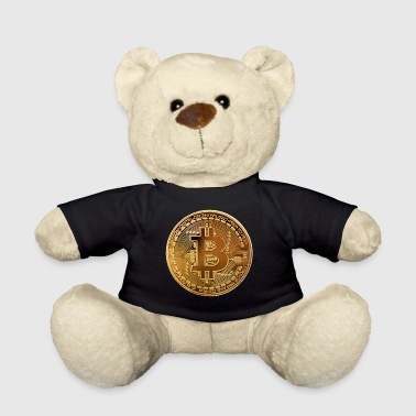 Bitcoin Gold Coin - Teddy Bear