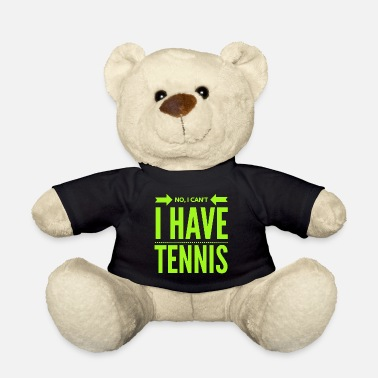 Tennis Player Tennis Tennis Player Tennis Racket Sport Gift - Teddy Bear
