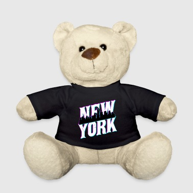 Statue Of Liberty New York City USA America Statue of Liberty skyline - Teddy Bear