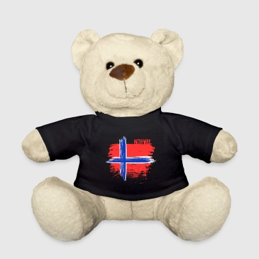 Norway Norway country Scandinavia flag Oslo north idea - Teddy Bear