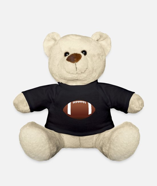 Touch Down Peluche - Football americano - Orsetto nero