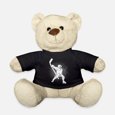 Hockey Ice Hockey Player Winter Sports Skater Gift - Teddy Bear