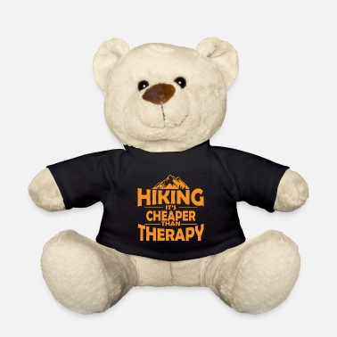 Forest Hiking therapy mountains saying gift - Teddy Bear