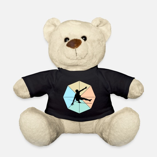 Libra Teddy Bear Toys - Slackline - Teddy Bear black