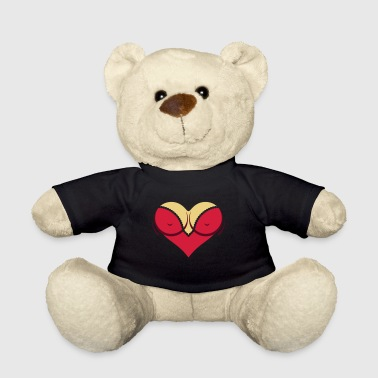 Heart-shaped Woman's Breasts With Deep Cleavage - Teddy Bear