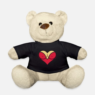 Cleavage Heart-shaped Woman's Breasts With Deep Cleavage - Teddy Bear
