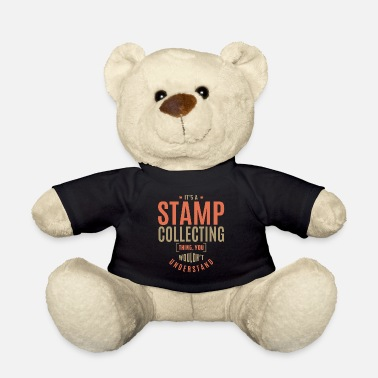 Stamp Collecting Stamp Collecting T-shirt - Teddy Bear