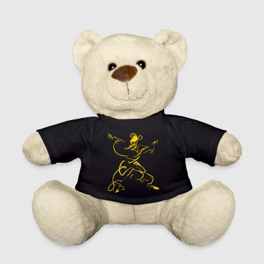 Kungfu figure - Teddy Bear