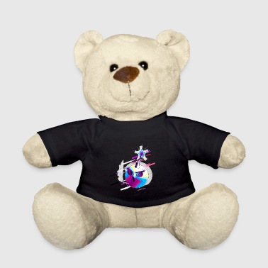 Bomb dangerous 80s retro violet - Teddy Bear