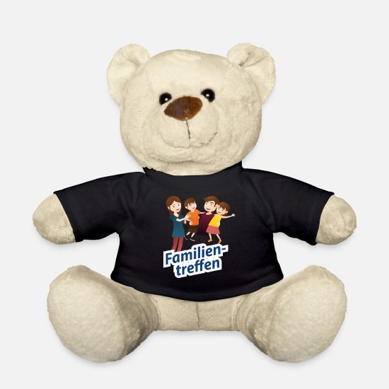 Gift Knuffeldieren - Family Reunion Family Gift Meeting Celebration - Teddybeer zwart