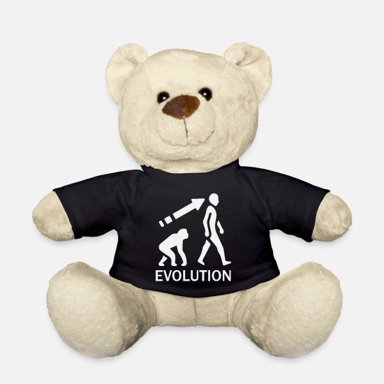 Rugby Teddy Bear Toys - evolution - Teddy Bear black