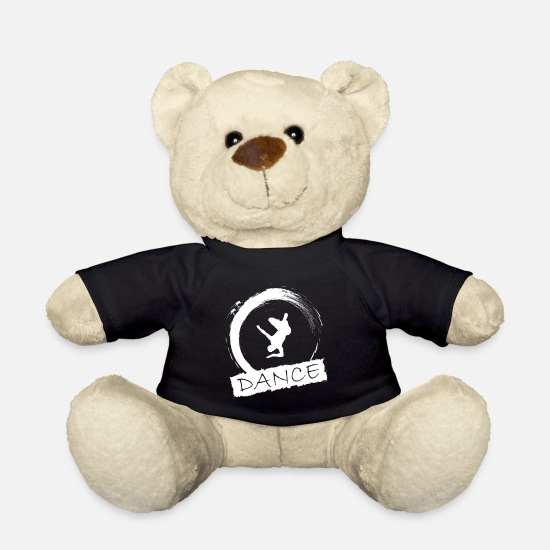 Gift Idea Teddy Bear Toys - break dancing - Teddy Bear black