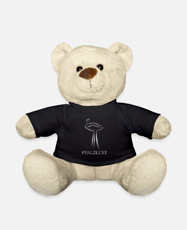Nature Teddy Bear Toys - Pfalzlust original - Teddy Bear black