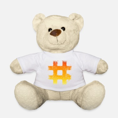 Streetware Fire Hashtag - Casual Streetwar - Teddy Bear