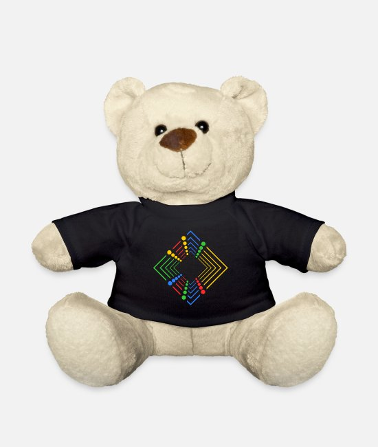 To Form Teddy Bear Toys - form 02 - Teddy Bear black