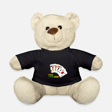 Bluff Poker card game - Teddy Bear