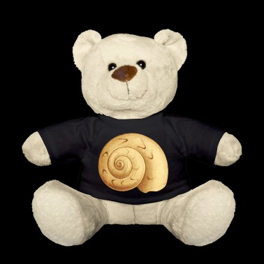 Shell snail shell motif as a gift idea - Teddy Bear