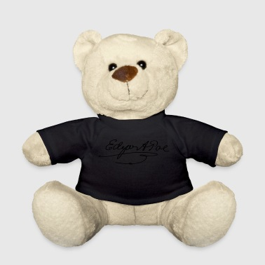 Edgar Allan Poe Signature - Teddy Bear