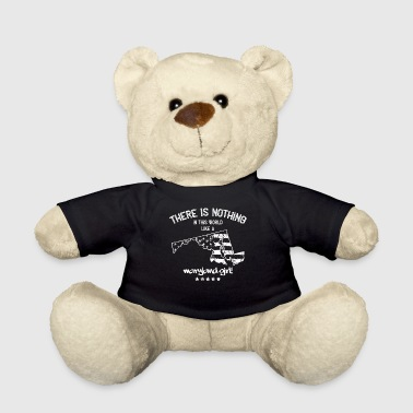 USA: Nothing In Like A Maryland State Girl Gift - Teddy Bear