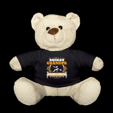 Squash Grandpa Shirt Gift Idea - Teddy Bear