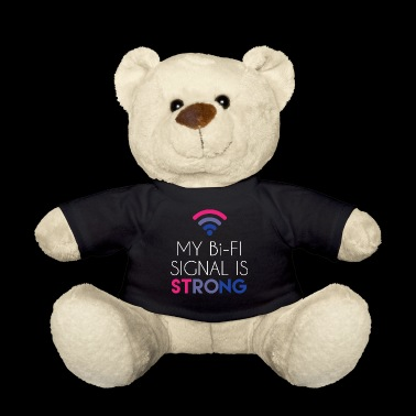 Bi-Fi - Bisexual - Gay Pride - Bi - Gift - Teddy Bear