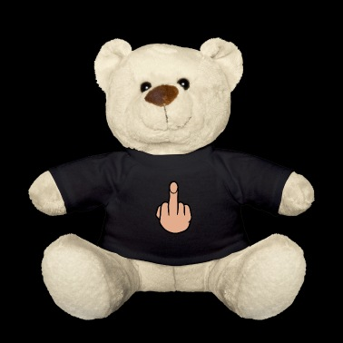 middle finger - Teddy Bear