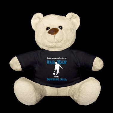 Old Bowler T-Shirt Bowler Oldie Farewell - Teddy Bear