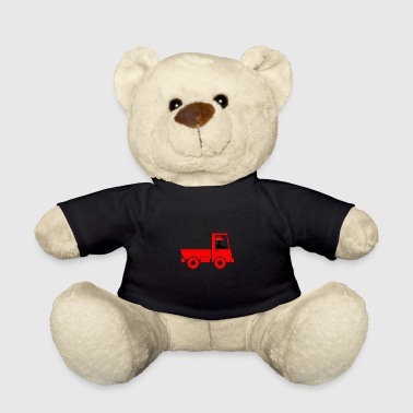 A Pickup Truck Drives To A Warehouse - Teddy Bear