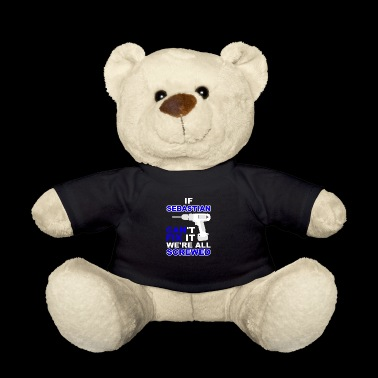 Sebastian birthday gift idea Love T-shirt - Teddy Bear