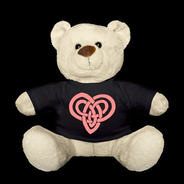 Celtic heart Valentine's Day Eternal bondage - Teddy Bear
