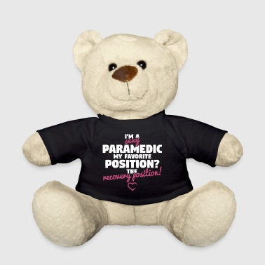 Sexy Paramedic - Recovery Position - Teddy Bear